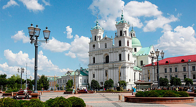 Cathedral of St. Francis Xavier in Grodno