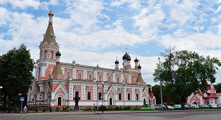 Holy Protection Cathedral in Grodno