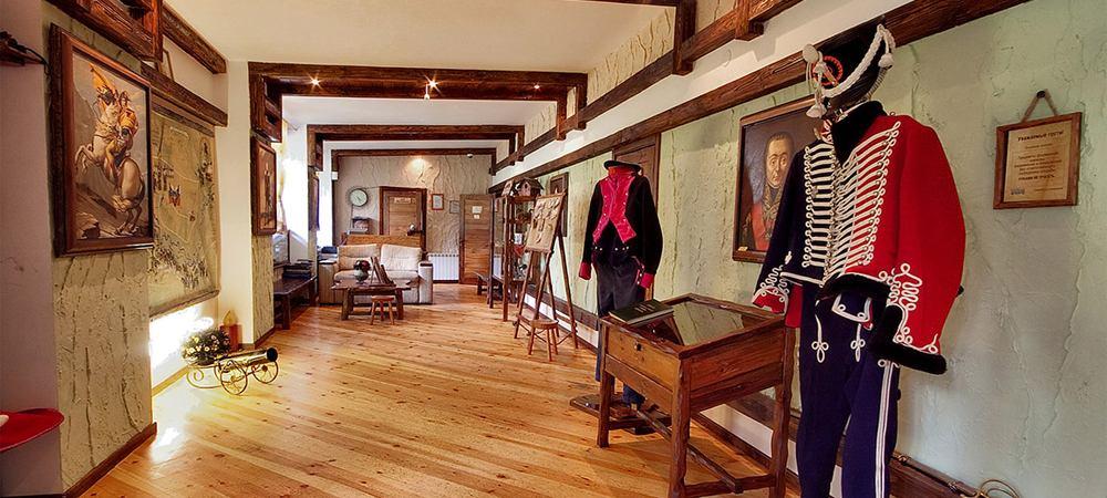 Bivak. Musée de la guerre de 1812.